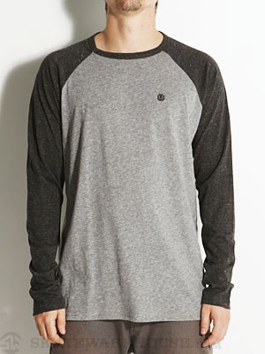 Element Moses Raglan Shirt Black LG