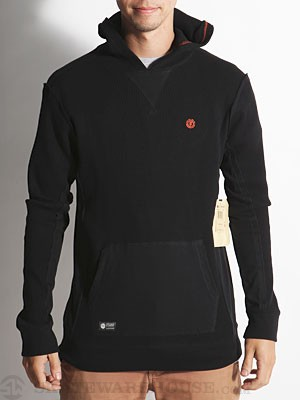 Element Raid Hooded Thermal Shirt Black SM