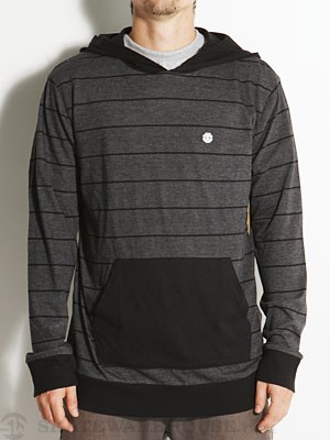 Element Vernon Hooded Knit Shirt Black SM