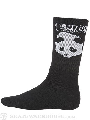 Enjoi American Socko Sock Black