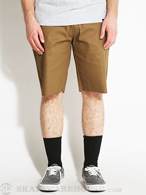 Enjoi Brown Trout Shorts Dark Khaki 32