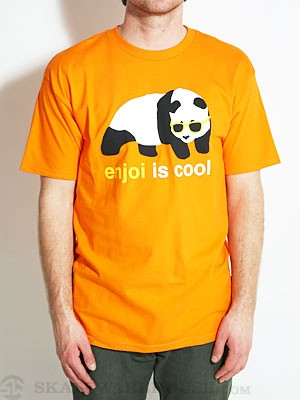 Enjoi Cool Tee Orange LG