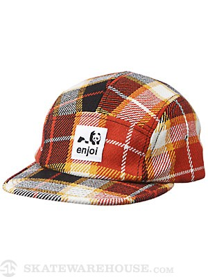 Enjoi Dumb Step 5 Panel Hat Orange One Size