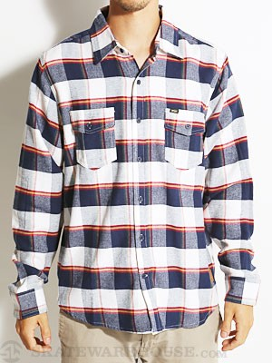 Enjoi Glad Plaid L/S Woven Shirt Multi SM