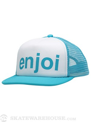 Enjoi Slosh Ball Hat Turquoise Adjustable
