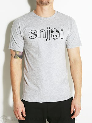 Enjoi Headvetica Tee Athletic Heather XL