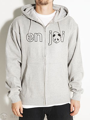 Enjoi Headvetica Hoodzip Gunmetal XL