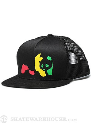 Enjoi Jamaican Me Crazy  Hat Black Adjustable