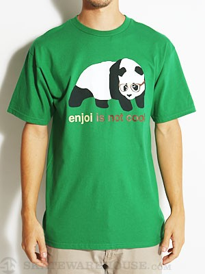 Enjoi Not Cool Tee Kelly Green SM