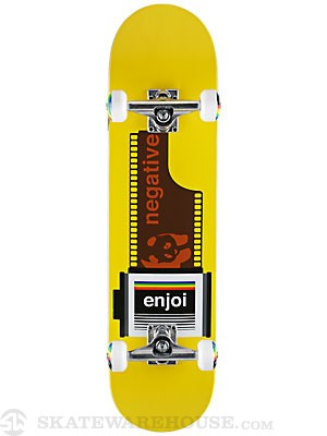 Enjoi Negative Yellow Complete 7.75 x 31.5