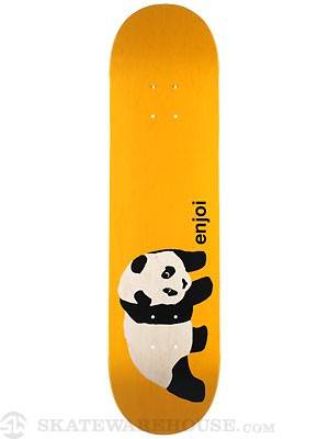 Enjoi Original Panda Clear Orange Deck  8.1 x 31.8