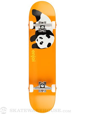 Enjoi Original Panda Orange Complete  7.5 x 31.4
