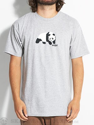 Enjoi Original Panda Tee Heather Grey XL