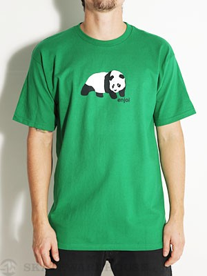 Enjoi Original Panda Tee Kelly Green SM