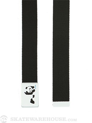 Enjoi Panda Web Belt Black Adjustable