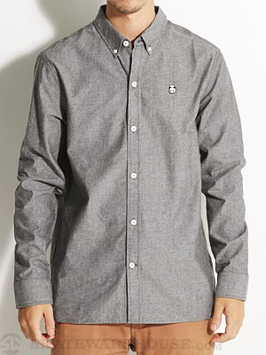 Enjoi Pappa Collar L/S Woven Shirt Black XL