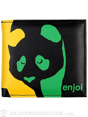 Enjoi Panda Wallet Black/Rasta
