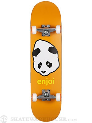 Enjoi Pandahead Orange Complete 8.0 x 31.1