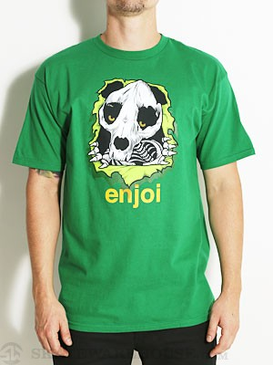 Enjoi Panda Ripper Tee Green MD