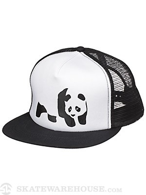 Enjoi Panda Trucker Mesh Hat Black Adjust
