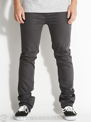 Enjoi Panda Slim Coolmax Jeans Charcoal 28