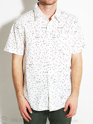 Enjoi Rembrant S/S Button Up Shirt White SM