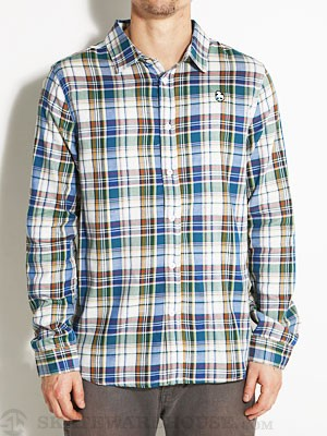 Enjoi Rad Plaid L/S Woven Shirt Multi MD