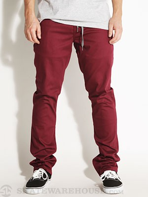 Enjoi Runway Model Jeans Oxblood 28