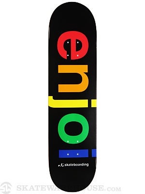 Enjoi Spectrum Black Deck 8.0 x 31.7
