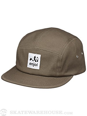 Enjoi Unoriginal 5 Panel Hat Green Adjust