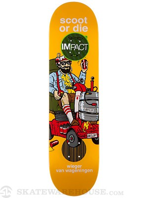 Enjoi Wieger Scooter Deck  8.1 x 31.8