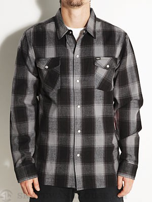 Enjoi Your Friends Shirt Woven Shirt Grey MD