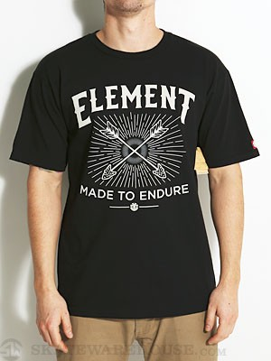 Element Archer Tee Black SM