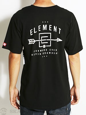 Element Arrow Tee Black MD