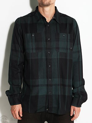 Element Austin Flannel Shirt Ivy MD