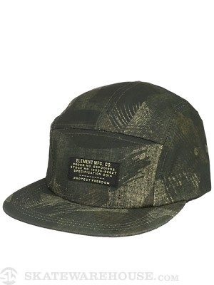 Element Batallion 5 Panel Hat Camo Adjust