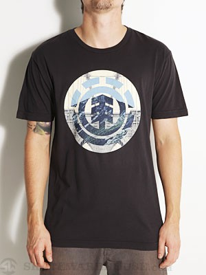 Element Bridge Tee Black XL