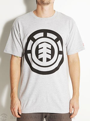 Element Big Tree Tee Heather Grey SM