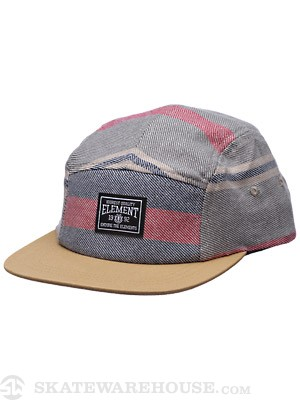Element Blanket 5 Panel Hat Indigo Adjust