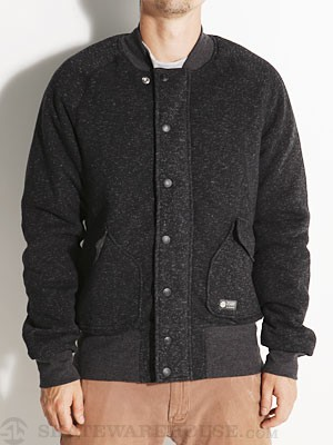 Element Bomber Fleece Jacket Black SM