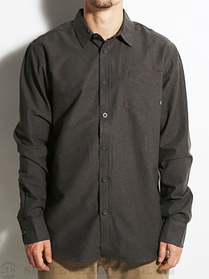 Element Brooks Oxford Woven Shirt Black MD