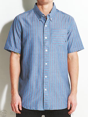 Element Chambers Woven Shirt Blue SM