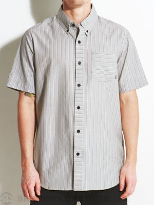 Element Chambers Woven Shirt Charcoal SM