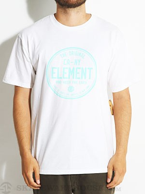 Element CA-NY Tee White XL