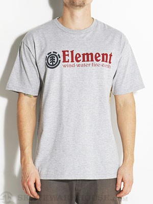 Element Classic Tee Heather Grey MD