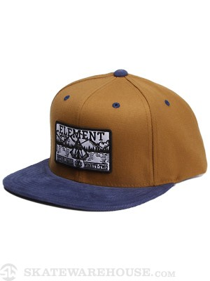 Element Camper Snap Back Hat Curry Adjust