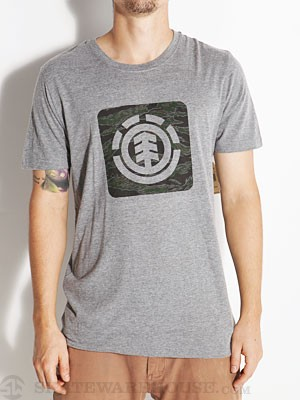 Element Camo Tri-Blend Tee Heather Grey SM