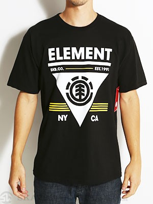 Element Coverage Tee Black SM