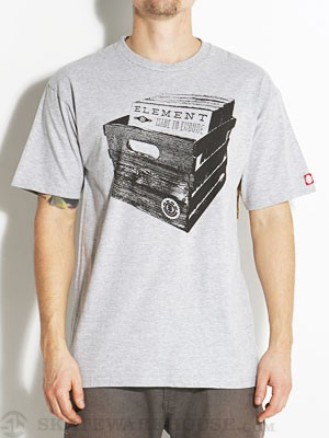 Element Crate Tee Heather Grey SM