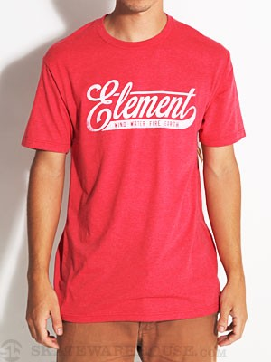 Element Curled Tri-Blend Tee Red XL